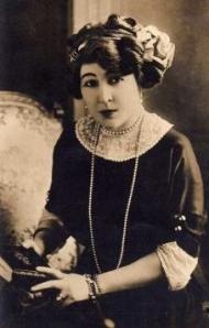 Portrait de Rosemonde GÉRARD ROSTAND
