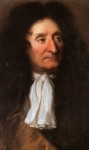 Portait de Jean de LA FONTAINE