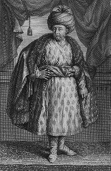 """Jean-Baptsiste Tavernier dans """"Les Six Voyages de Jean-Baptiste Tavernier"""" (1679)."""