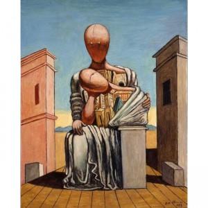 """""""Antigone consolatrice"""", Giorgio de Chirico, 1973"""
