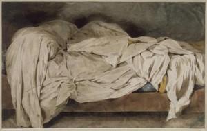 Lit défait - Eugène Delacroix