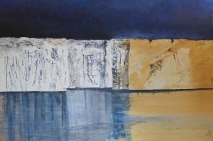 Des icebergs de voiles comme rivages