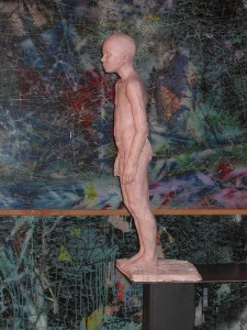 Sculpture - Le bout du chemin - Claude Justamon