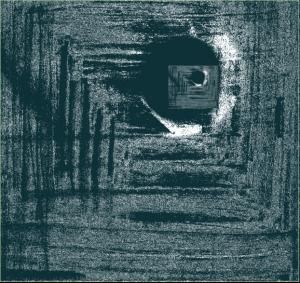 2nd éclipse - Numérisation mine de plomb - Astrid Shriqui Garain