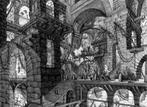 Giovanni Battista Piranesi, dit Le Piranèse - Les prisons imaginaires (extrait)