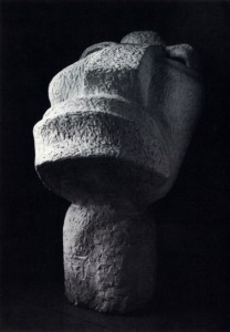 Sculpture d'Otto Freundlich - Der neue Mensch (The New Man) - 1912