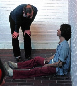"""Drug addict - Louisiana"" - 1975 - Cculpture de Duane Hanson"
