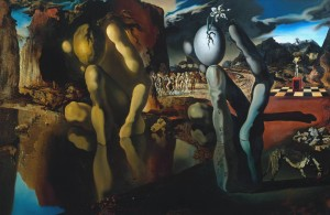 """La métamorphose de Narcisse"" - Salvador Dali"