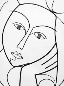 """Sculpture de Laure Simoneau, LoR - """"Sauvage"""" © - http://www.atelierlor.com/"""